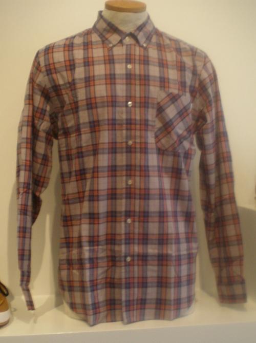 Huf Tartan Prep Shirt
