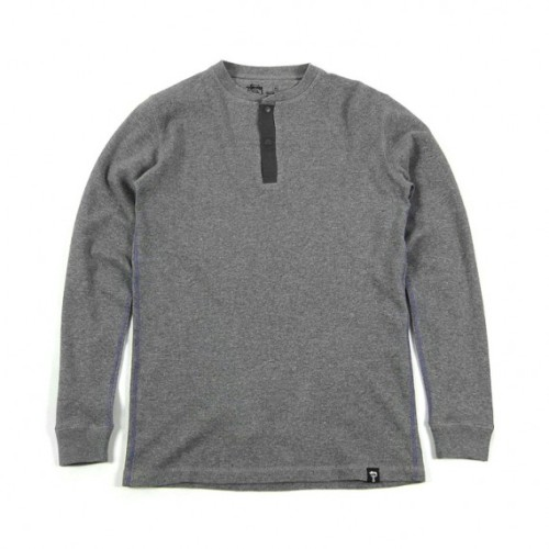 Stussy Deluxe Lifted Thermal Henley