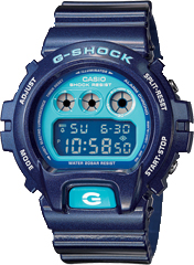 Casio G-Shock DW6900 Metallic Blue