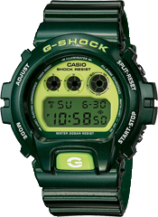 Casio G-Shock DW6900 Metallic Green