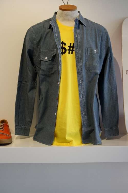 Huf Chambray Engineer Shirt